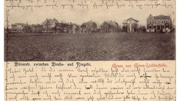 Die Dürerstraße zwischen Drake- und Ringstraße.