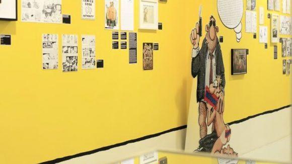 Blick in die Ausstellung Superqueeroes robertm.de