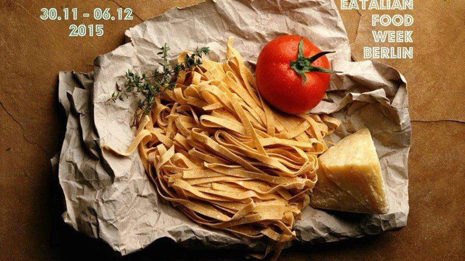 Eatalian Food Week: 1 Woche, 18 Restaurants, 3 Gänge und 1 Glas Wein für 20 Euro.