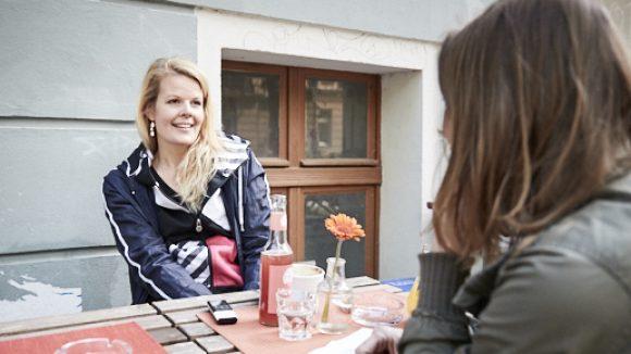 Ein Besuch im Nadia und Kosta ist Pflicht, findet Lizzy. Recht hat sie! © Ralph Penno