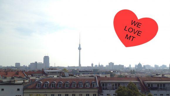 Toller Ausblick vom Turm der Zionskircheauf Berlin-Mitte