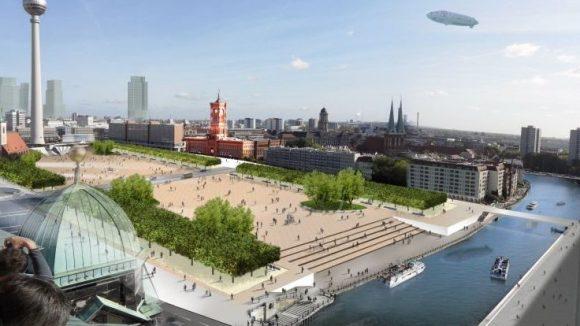 Dieser Entwurf für die neue Alte Mitte Berlins ist gar nicht so weit weg von dem, was sich viele Berliner für die Gestaltung des Areals wünschen. Umgesetzt wird er so aber wahrscheinlich nicht.
