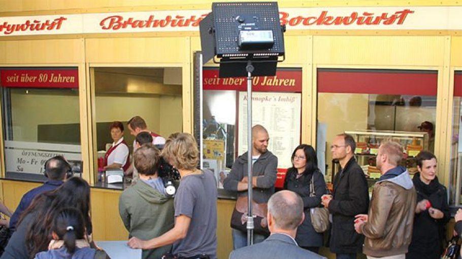 Filmdreh für die BFB Imagekampagne.