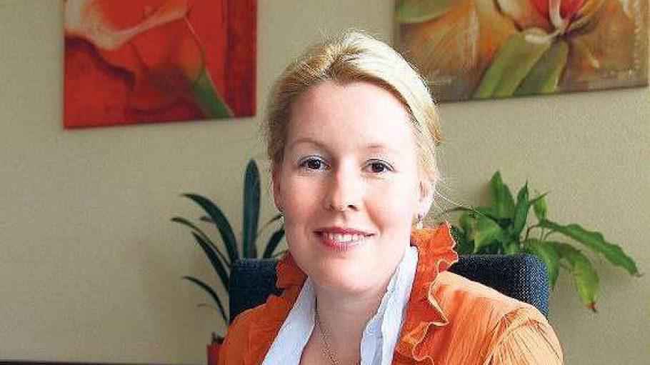 Zupackend und strukturiert. Franziska Giffey, 36, hat sich als Bildungsstadträtin viel Respekt verschafft.