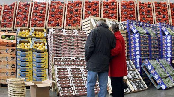 Der Fruchthof ist einer der größten Handelsplätze für frisches Obst in Berlin.