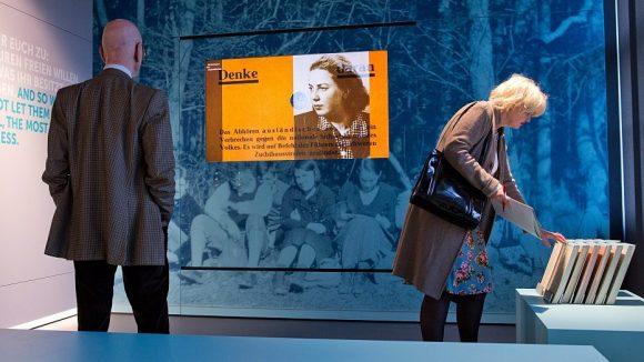 Die Dauerausstellung in der Gedenkstätte wurde neu konzeptioniert - inklusive der Farbgebung.