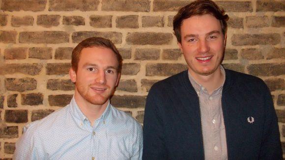 Die Geschäftsführer von TeamEscape: Niklas von Freeden (l.) und Malte Oberbeck.