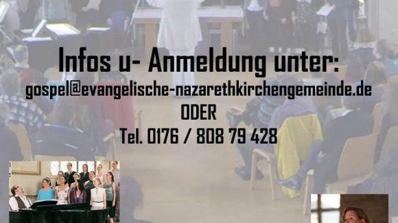 Dreitägiger Gospelworkshop am Leopoldplatz.