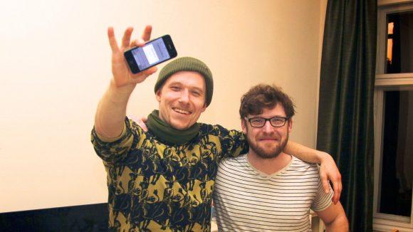 Der erste Tausch auf der App Jaspr. Grüner Noel hat ein altes iPhone gegen Deutsche Übersetzungen für seine Webseite getauscht. ©Jaspr
