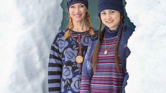Sorgt im Winter für gute Laune: die Mode vonGudrun Sjödén.