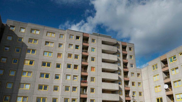Im Gebiet Heerstraße-Nord ließ das damalige West-Berlin Plattenbauten errichten.