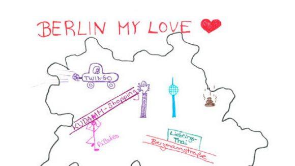 Hier findest du Sarah Maria Breuers Lieblingsorte in Berlin. ©Radio ENERGY