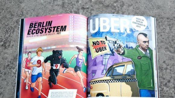 Hundert Start-ups und ihre Ideen in Ausgabe acht des Berliner Magazins. (c) Promo