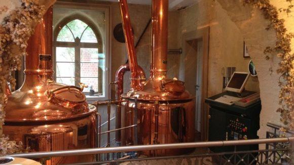 Im Biergarten der Meierei gibt es eine tolle Bierauswahl. © Sarah Hoffmann