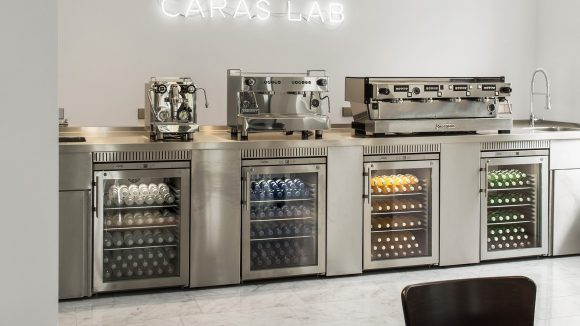 Im CARAS Lab lenkt nichts vom Wesentlichen ab.