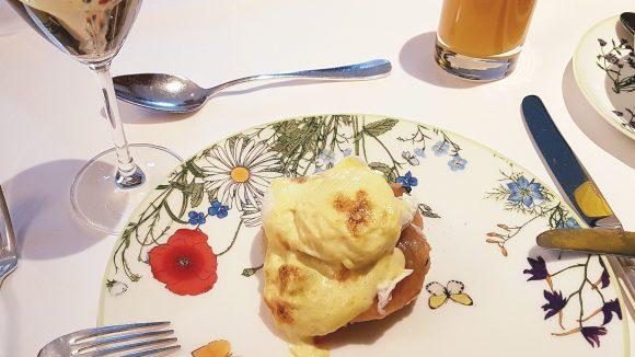 Das Egg Florentine – mit Lachs aufgepimpt – schmeckt vorzugüglich.