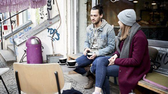 Im Nothaft und Seidel: Finn ist ein absoluter Kaffeeliebhaber.