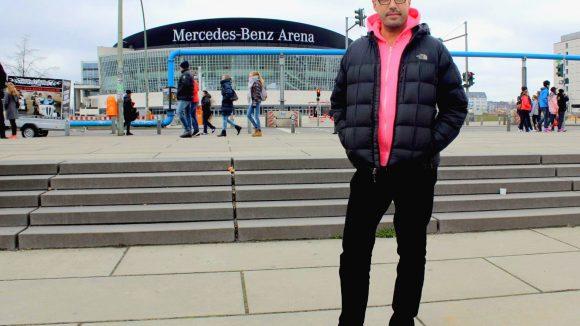 In der Mercedes-Benz Arena feiert Schiller das Finale seiner Tour durch 16 Arenen. ©Wernicke