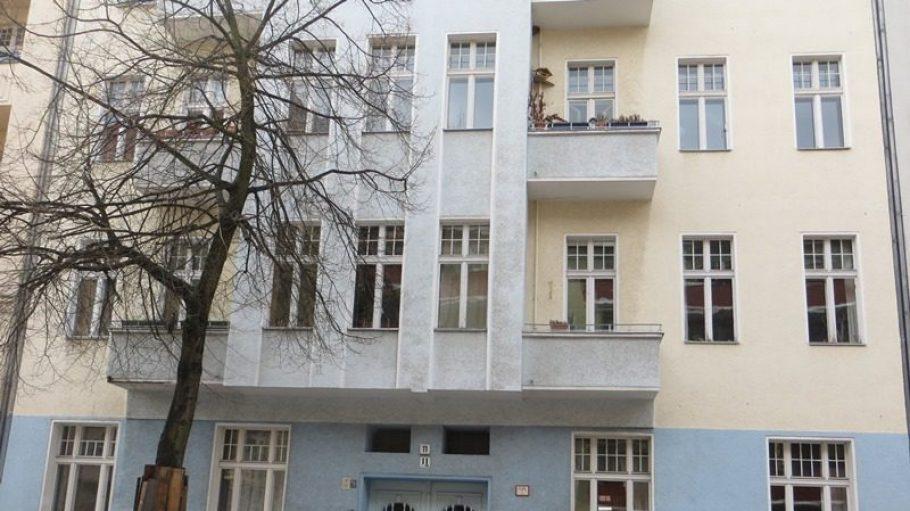 In diesem Haus lebte die Familie Löw - heute ist hier eine Nachbarschaftsinitiative aktiv.