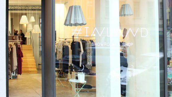 Hübsch anzusehen: Der #INLAND Pop-up Shop auf der Brunnenstraße.
