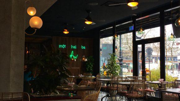Innenraum des Restaurants 1000 Grad. ©Qiez