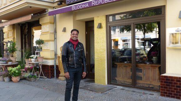 Ins Buddha Republic geht Amit Ranka gerne mit Geschäftspartnern. Dann aber im Anzug.
