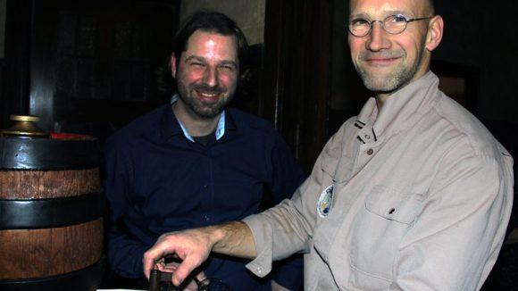 Jens Plechinger (l.), Martin Eschbrenner. (c) Hensel