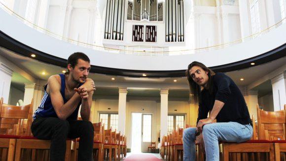 Johannes steht auf große Hallen und kommt für eine Auszeit gerne in die Thomaskirche.