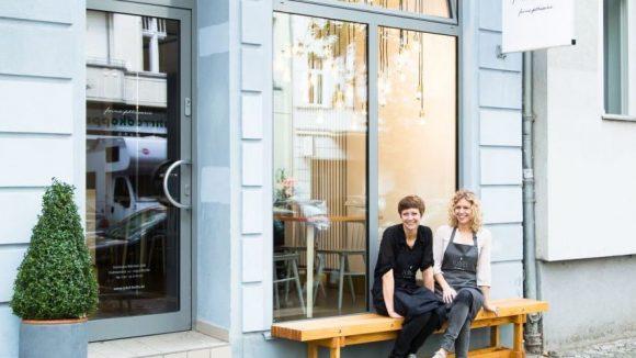 Die Inhaberinnen Kai Michels (l.) und Lucie Babinska.