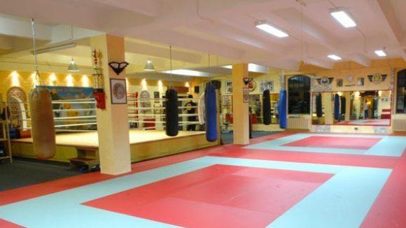 Kampfsportschule in den Gebauer Höfen.