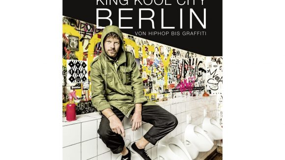 "Graffitikünstler Falkland ist der Coverstar von ""King Kool City Berlin""."