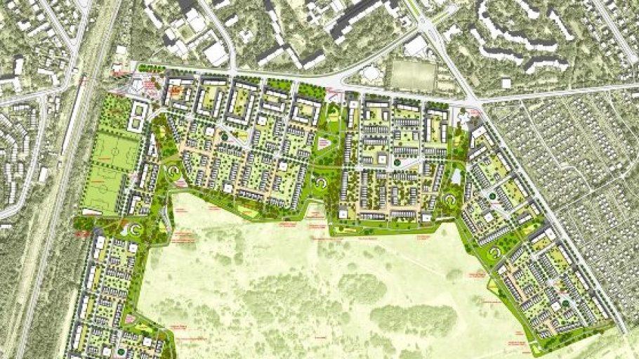 So plant die Groth-Gruppe das neue Viertel auf der Parks Range bisher. Jetzt haben die Bürger allerdings auch noch ein Wörtchen mitzureden.