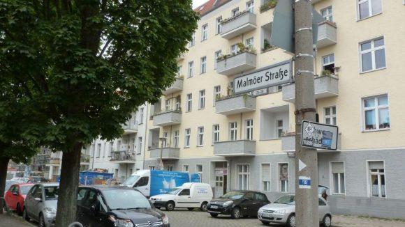 Im Mai 2015 wird es hier voll. Dann soll der Verkehr von der Bösebrücke durch die Malmöer Straße umgeleitet werden.