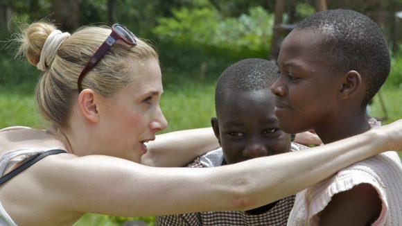 Kristin Meyer in Uganda