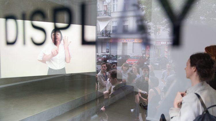 """Auch das """"Display"""" gehört zu den projekt- und Ausstellungsräumen, die ihre Türen für das Project Space Festival Berlin öffnen."""