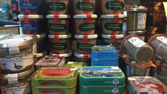 Leberwurst und Sardinen gibt es auch (c) Jänicke