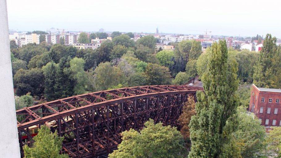 Die Liesenbrücken von oben.