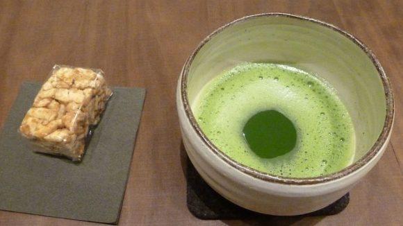 Macha-Tee ist zwar giftgrün, aber total gesund.
