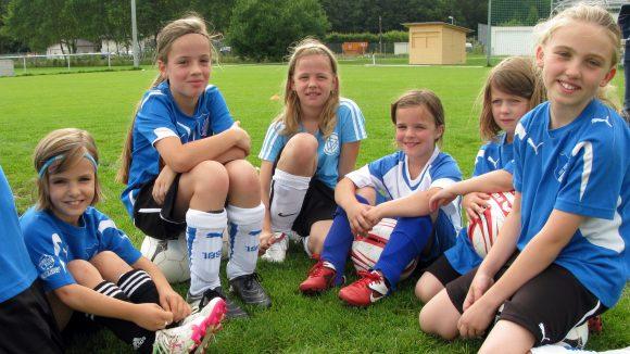 Mit dem Wettbewerb sollen Mädchen schon früh für den Vereinsport animiert werden.