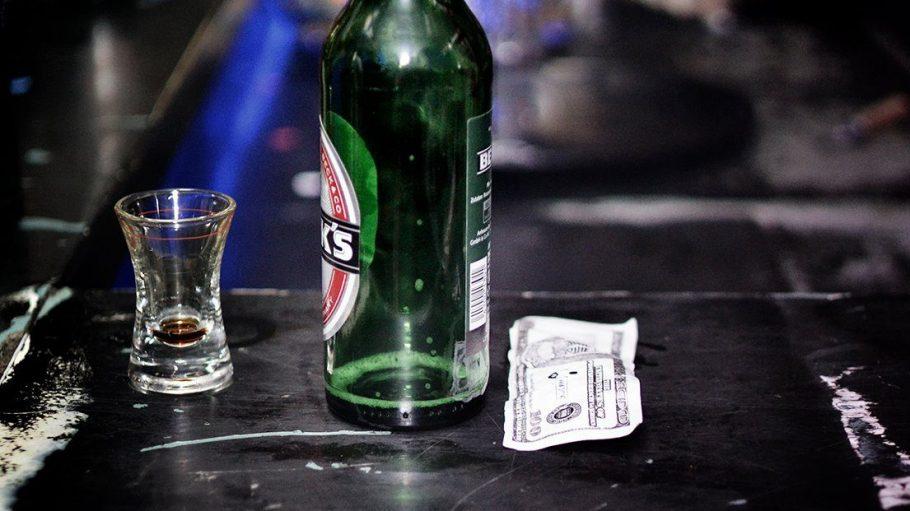 Dieses Foto zeigt die Überreste einer #eintagsliebe Party im Magnet Club. Dort hat sich's ausgetrunken.