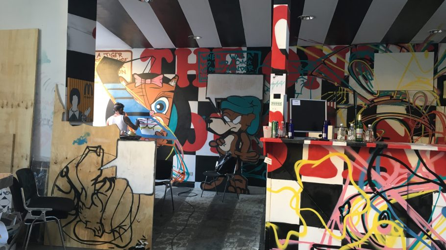 Alles steht im Wandel bei Wandelism. Ab dem 26. April haben Street-Art-Freunde erneut die Möglichkeit die Werke von 100 Urban-Artists zu bestaunen.