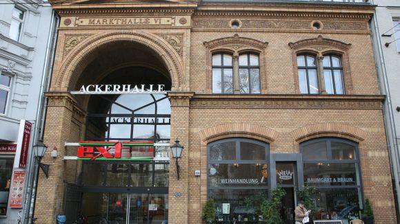 Hübsche Location: die Markthalle VI ist mehr als nur Supermarkt.