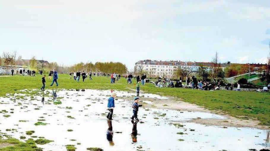 Wie Teile des Mauerparks künftig bebaut werden sollen, dürfen die Anwohner nicht mehr mitbestimmen.
