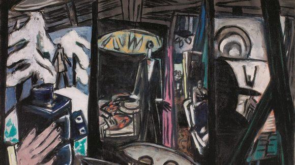 Max Beckmann: Filmatelier Film Studio, 1933 ©VG Bild-Kunst, Bonn 2018, Foto: Saint Louis Art Museum