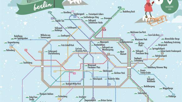 Mit der Bahn auf die Rodelpiste kommst du dank dieser Map. ©LocaFox