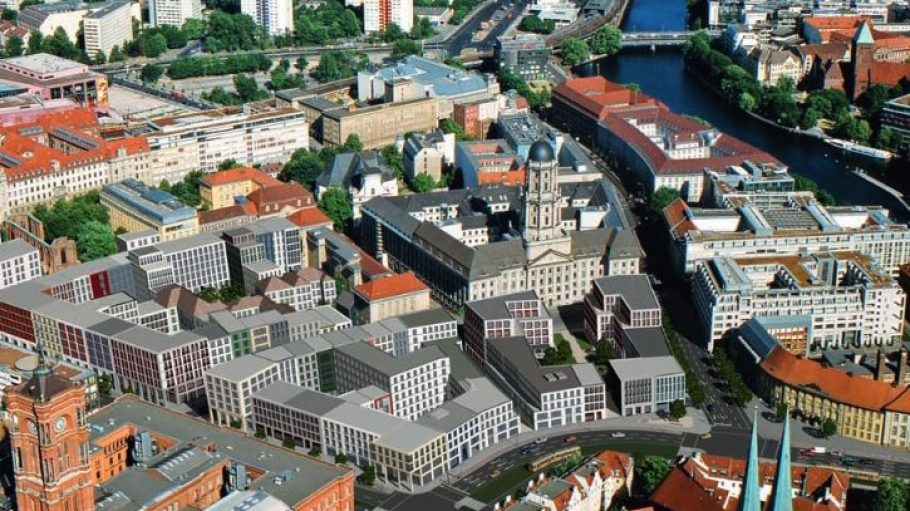 So viel Neues, um zu alter Enge zu finden: Grafik zu den Bebauungsplänen von Klosterviertel und Molkenmarkt.