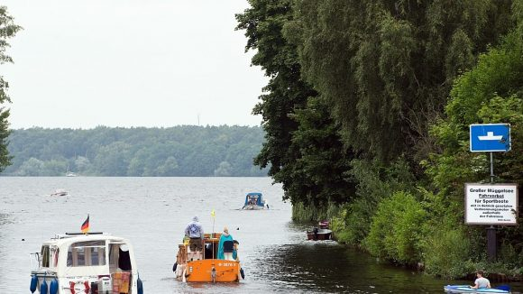Der Müggelsee ist eine der Hauptattraktionen des Bezirks Treptow-Köpenick - besonders im Sommer.