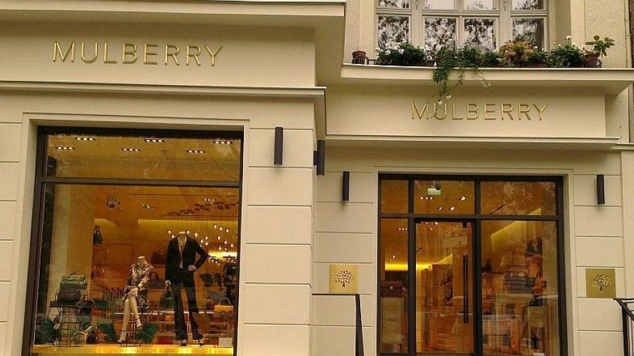 Der Mulberry Shop am Kurfürstendamm hat eine Reihe exklusiver Nachbargeschäfte.