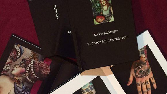 Myra Brodskys Kunst gibt es jetzt auch in Buchform.