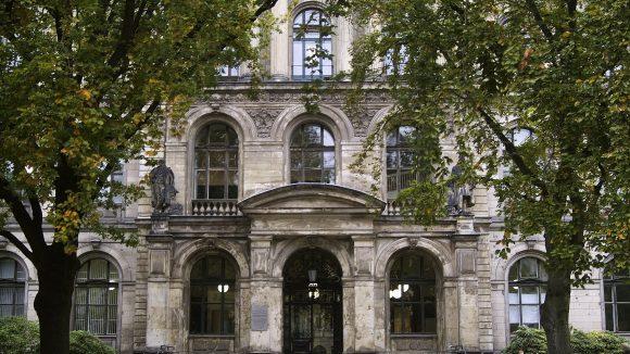 Im Naturkundemuseum wird auch Forschung betrieben.
